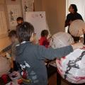 Дети и абажуры