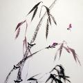 Малиновый бамбук