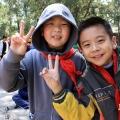 Детишки в загородной резиденции И Хэ Юань