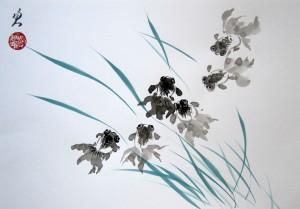 Елена Касьяненко, живопись, живопись У-син, Китай, китайская живопись