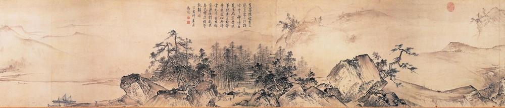 у-син, живопись у-син, пейзажи, китайская живопись