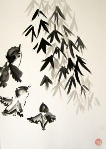 2-я ступень, Анна Куликова, Елена Касьяненко, живопись У-син, Ирина Хохлова, Ольга Хорчева, спонтанное рисование