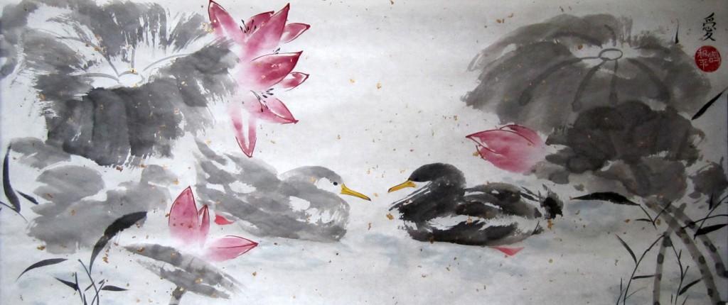 Китайская живопись стала ближе к простым новосибирцам