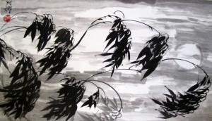 4 благородных, бамбук, Го Хуа, Елена Касьяненко, Инга Проценко, китайская живопись, Лара Грязева, Ольга Хорчева