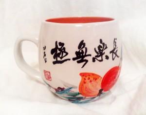 живопись, живопись У-син, Катрин Черная, китайская живопись, роспись посуды, У-син
