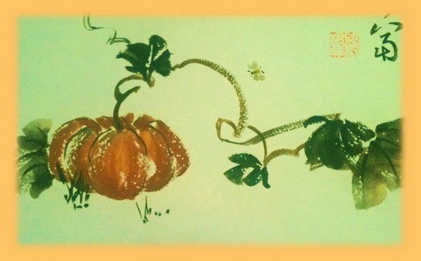 живопись, живопись У-син, китайская живопись, мастер-класс, Натали Котова, У-син, школа живописи У-син