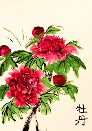 живопись, живопись У-син, китайская живопись, мастер-класс, У-син, школа живописи У-син, Юлия Зима