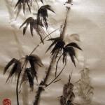 традиционная китайская живопись, го-хуа, гохуа, бамбук, четыре благородных, 4 благородных