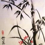 го-хуа, китайская живопись, три друга зимы, хризантемы, бамбук, сосна, цветущая слива, орхидея