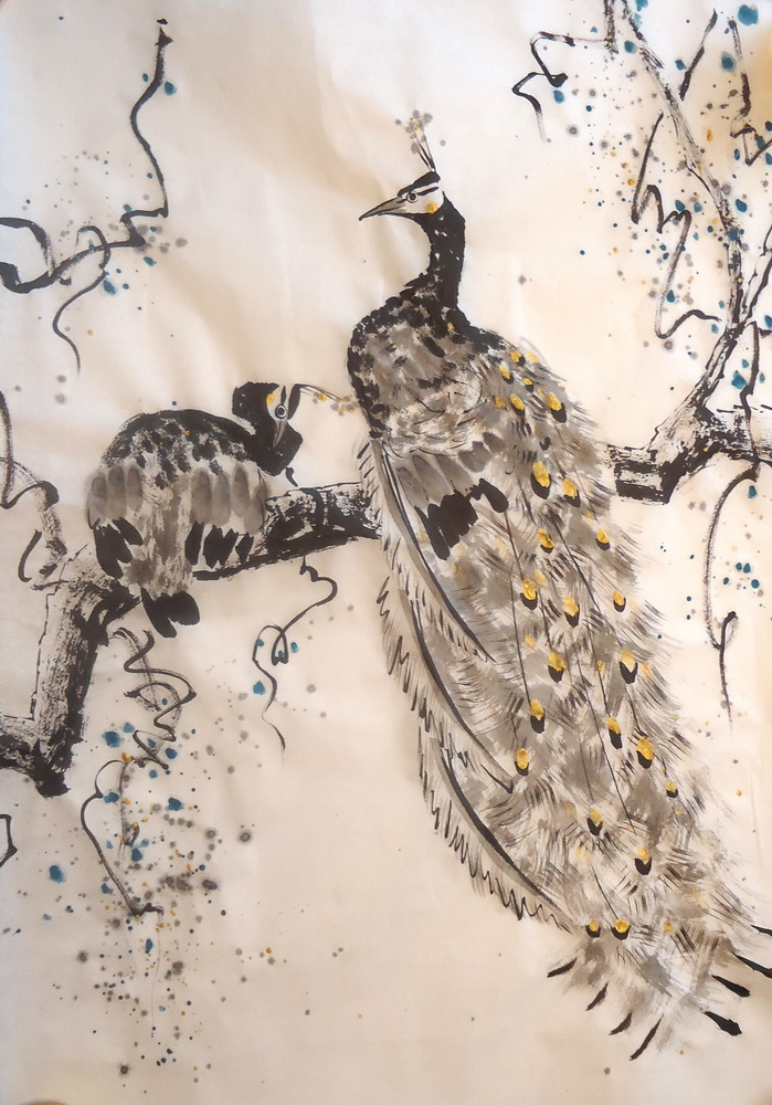 Chinese Painting And Painting In Wu Xing Style How To