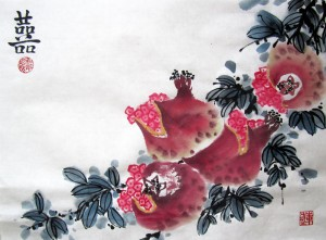 Елена Касьяненко, китайская живопись, живопись У-Син, обучение рисованию