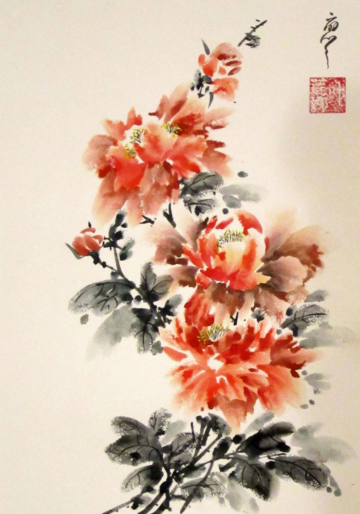 китайская живопись картинки:
