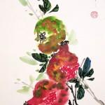 Елена Касьяненко, арт-тур, живопись У-Син, китайская живопись, Черногория, пленэры, обучение рисованию