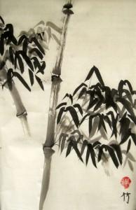 Елена Касьяненко, Екатерина Усольцева, Анна Басова, Екатерина Чернова, Ольга Гайко, китайская живопись, гохуа, го-хуа, го хуа, бамбук