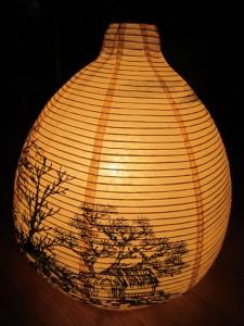 Елена Касьяненко, дизайн, китайская живопись, мастер-класс, обучение рисованию, настольная лампа