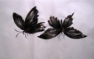 Елена Касьяненко, китайская живопись, обучение китайской живописи, Школа живописи У-Син, се-и, гунби, гун-би, бабочки