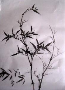 Елена Касьяненко, китайская живопись, обучение китайской живописи, Школа живописи У-Син, се-и, гунби, гун-би