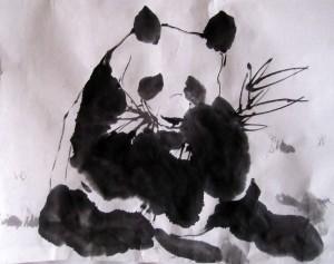 Елена Касьяненко, китайская живопись, гохуа, го-хуа, се-и, панда, обучение рисованию, Школа живописи У-Син