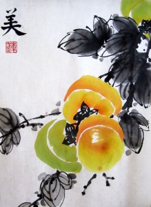 Елена Касьяненко, китайская живопись, гохуа, цветы и птицы, се-и, обучение рисованию
