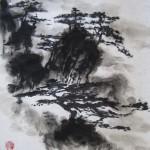 Елена Касьяненко, китайская живопись, гохуа, горы-воды, пейзаж, обучение рисованию, се-и, гунби, цветы и птицы, контурные техники