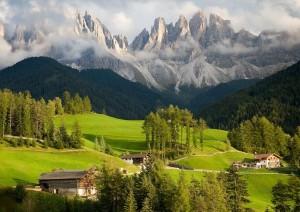 Доломитовые Альпы. Италия