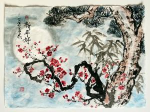 Китайская живопись, Юлия Зима