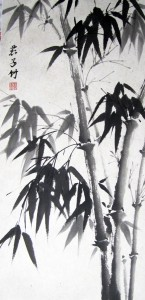Благородный бамбук. Елена Касьяненко, китайская живопись