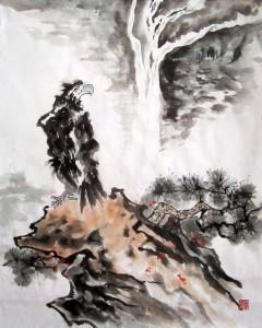 Орел. Елена Касьяненко, китайская живопись