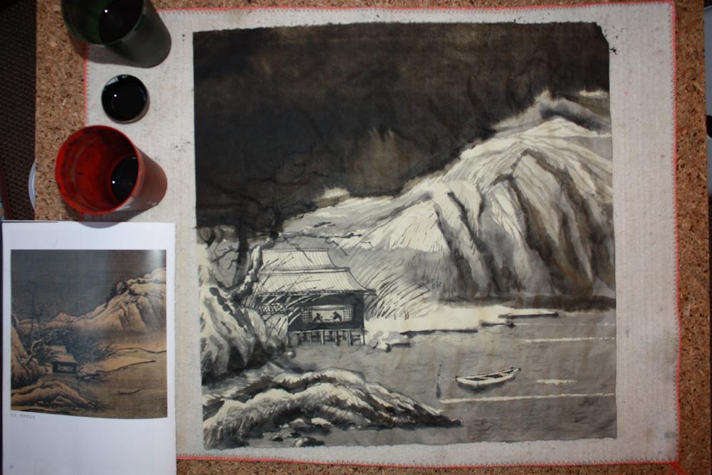 пейзажная живопись у-син, китайский пейзаж