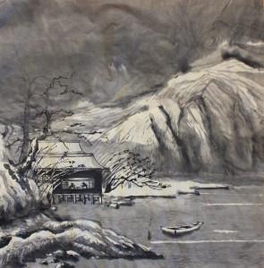 Пейзажная живопись у-син. Китайский Пейхзаж