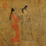 Zhou_Fang._Lady_With_Servants_(or_Lady_With_Fan)._(33,7x204,8)_Beijing_Palace_Museum