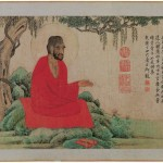 5_Zhao_Mengfu_Monk_in_a_Red_Robe,_dated_1304_(26_x_52_cm)Liaoning_Provincial_Museum