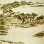 Dong_Qichang._Eight_Scenes_in_Autumn._1._Album_leaf._1620._Shanghai_Museum.