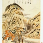 Dong_Qichang_Eight_Scenes_in_Autumn._4._Album_leaf._1620._Shanghai_Museum.