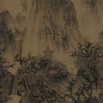 Li_Cheng,temple_boudhiste_dans_les_montagnes