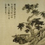 Wu_Zhen._Fishermen._section.32,5x562,2cm._ca._1340._Freer.