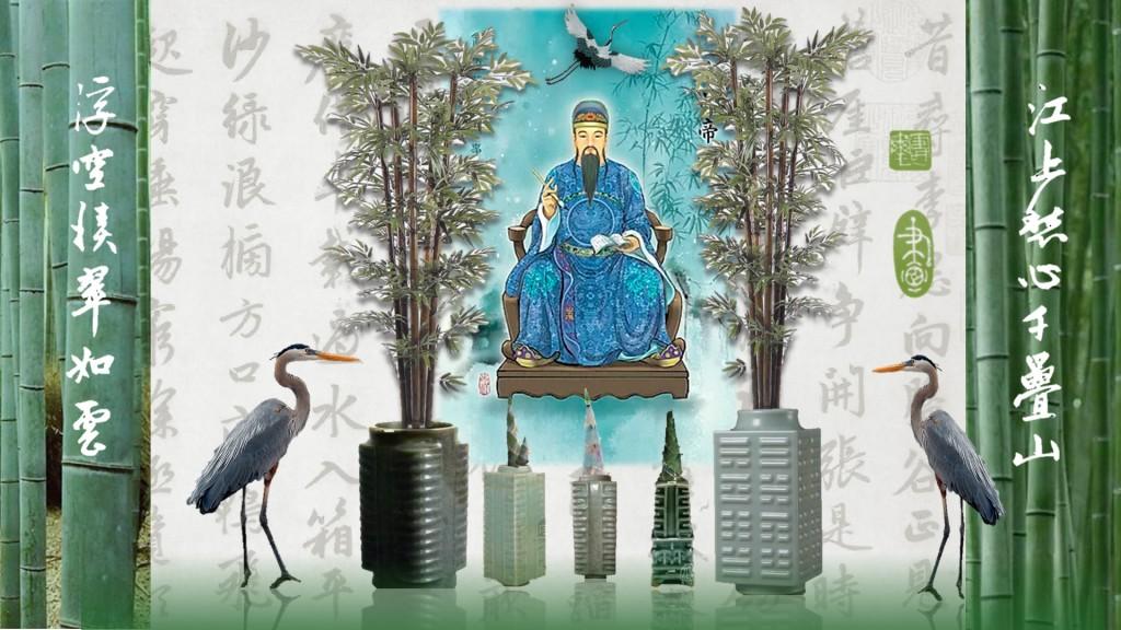 Бамбук, Китайская живопись, Вэнь, Китайская культура